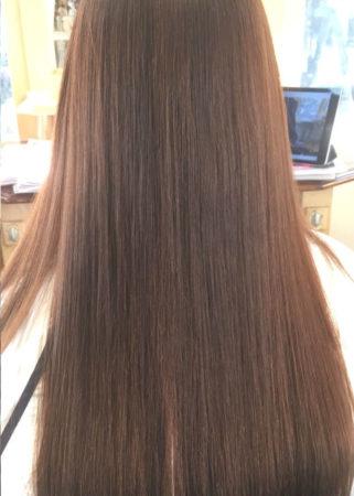 くせ毛がひどく縮毛矯正をやり続けて髪の傷みが悩みでした。(After)