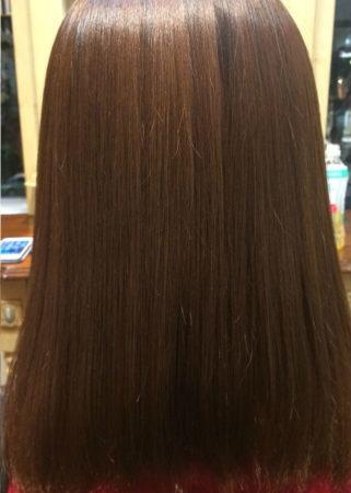 縮毛矯正で蘇る美しい髪(After)