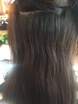 軽い質感の潤がある髪はもうやめられない(Before)