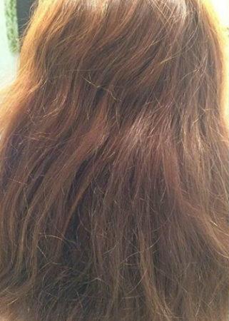 感動の縮毛矯正!こんなキレイな髪に!