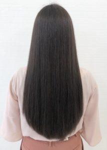 髪質改善サラサラストレートロング