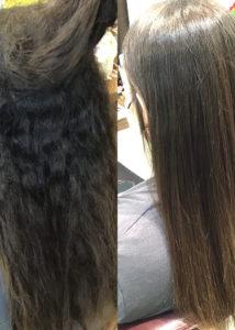 【これまでにない艶感】髪質改善★極★ストレート&カラー+カット ¥44,000→¥40,700(税込)