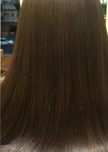 サラサラツヤ髪
