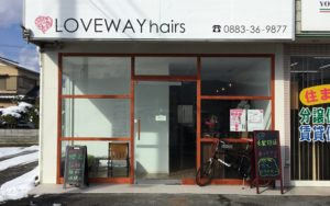 LOVEWAY hairs