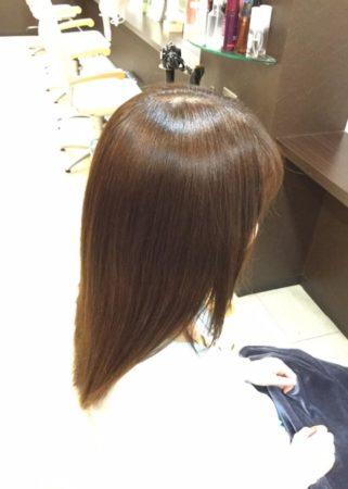 ツヤのあるキレイな髪に(After)