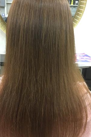 傷んでいたうねりクセ毛がツヤ髪に(After)