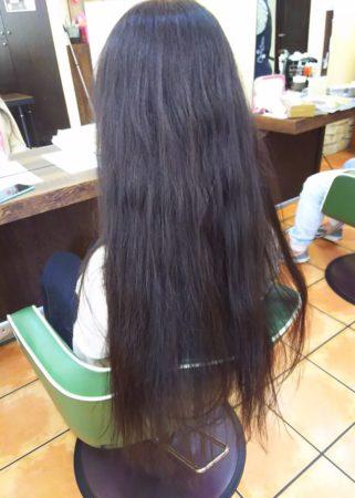 縮毛矯正MAS-4ストレートでキレイなストレートに(Before)