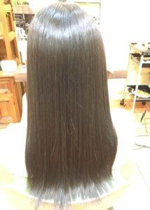 縮毛矯正MAS4ストレート+カラー