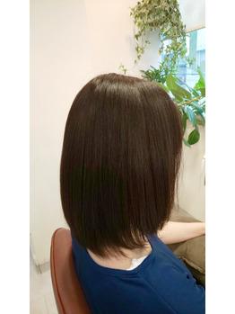 美髪矯正シルクレッチ®︎(髪質改善)(After)
