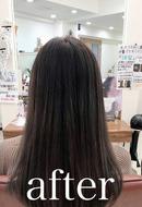 美髪矯正シルクレッチ®︎+カラー(髪質改善)(After)