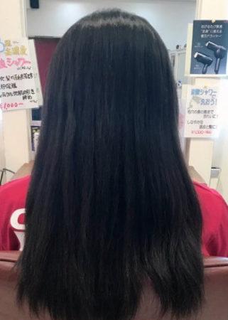 シルクストレート(縮毛矯正)(Before)